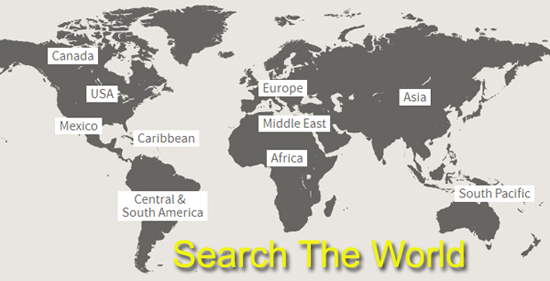 Search The World For Travel Map