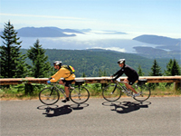 USA travel- Biking Seattle and San Juan Islands