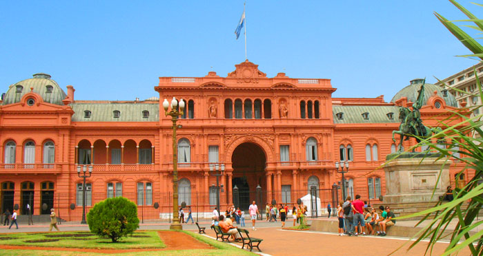 Latin America Travel Update -Argentina Pink Palace