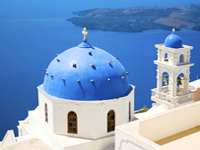 Top Ten Romantic Destinations santorini Greece