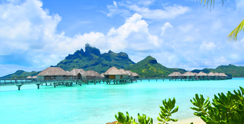 South Pacific Tahiti Bora Bora