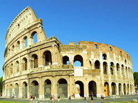 Italy travel - Rome colosseum Italy