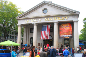 Boston travel information - Quincy Market