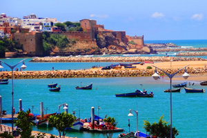 Morocco Port city