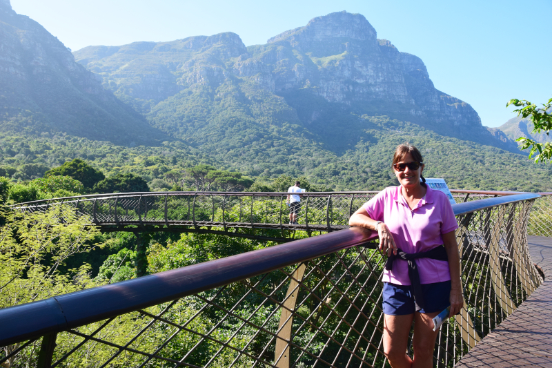 South Africa Donna Salerno in Park