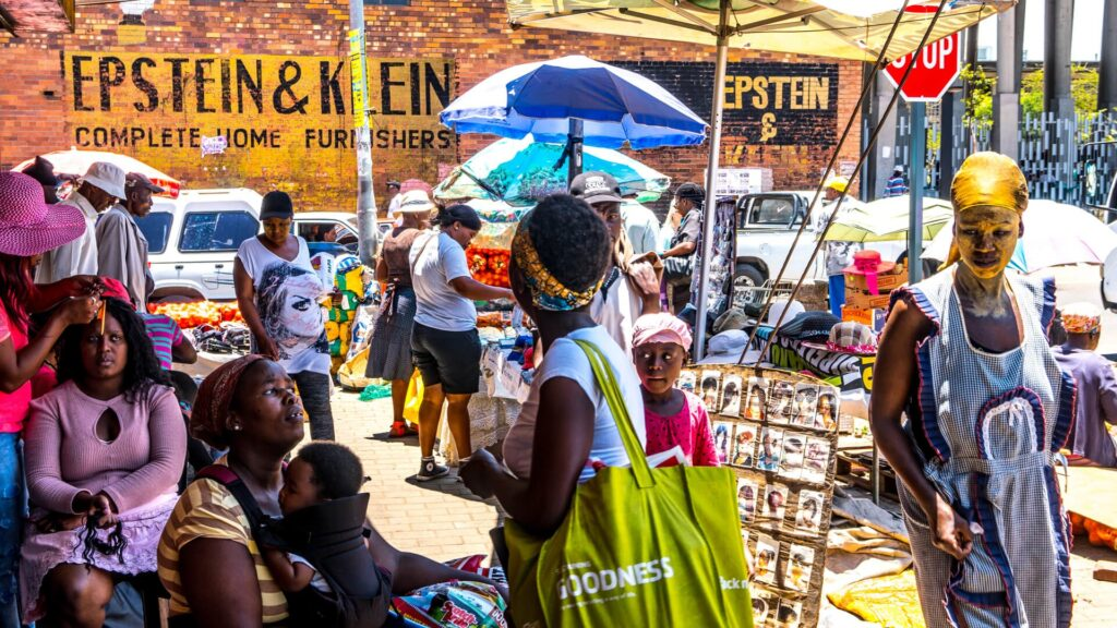 Cape Town South Africa market